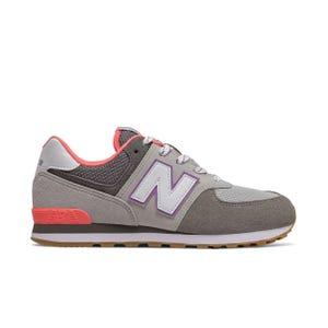 Zapatillas Urbanas Niña New Balance 574 Gris