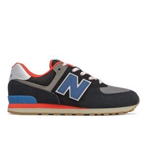 Zapatillas Urbanas Niño New Balance 574 Negro