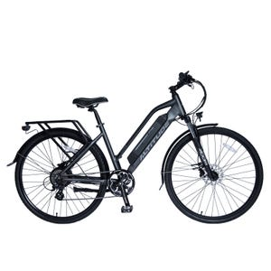 Bicicleta Eléctrica Urbana Altitude Cuyen Gris Matte