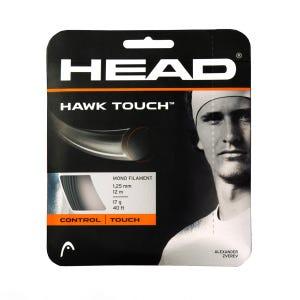 Cuerda Tenis HEAD Hawk Touch Set 17g Gris