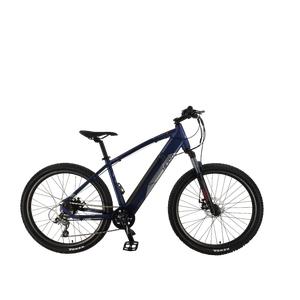 Bicicleta Eléctrica MTB Hiland Azul
