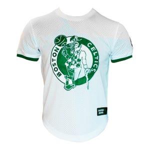 Camiseta Básquetbol Hombre NBA Celtics Blanca