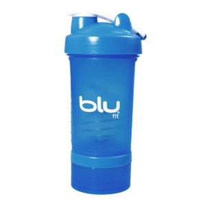 Botella Mixer Blu Fit Azul