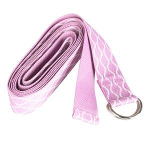 Correa de Estiramiento Yoga Blu Fit Rosada