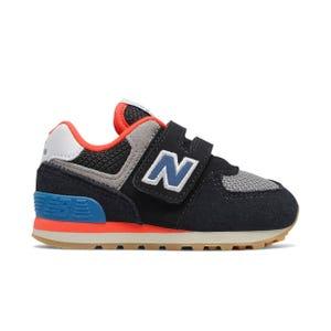 Zapatillas Urbanas Infantil New Balance 574 Negro