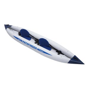 Kayak Inflable Zray Pathfinder 395 2 Personas Gris