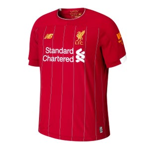 Camiseta Local Liverpool FC Niño New Balance Roja 2019