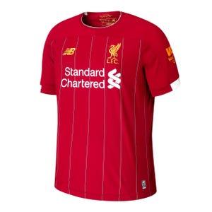 Camiseta Local Liverpool FC Niño New Balance Roja 2019