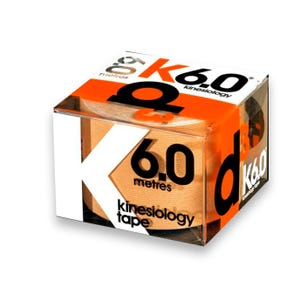Benda Elástica D3 de  kinesiologia K6.0 Beige