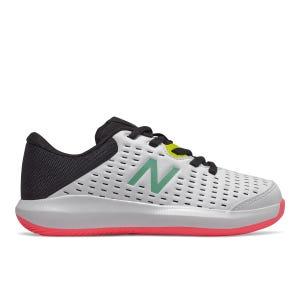 Zapatillas Tenis Niño New Balance 696 v4 Blanca