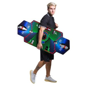 Plataforma Multifuncional de Entrenamiento Fitness TraXion Negro