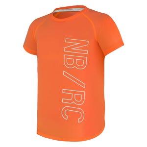 Polera Running Niño New Balance Tenacity Kids Naranja