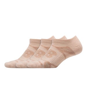Pack 3 Calcetines Running New Balance Double Tap Rosado