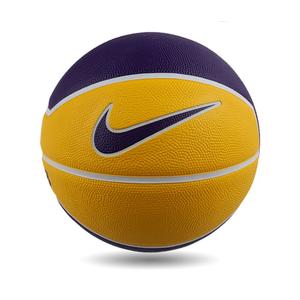Balón Básquetbol Nike Lebron Playground 4P N°7 Amarillo/Púrpura
