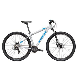 Bicicleta MTB Trek Marlin 4 Disco Mecánico Plata 2019