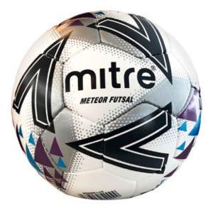 Balón Babyfútbol Mitre Futsal Meteor Delta 4 Blanco
