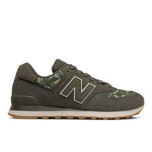 Zapatillas Urbanas Hombre New Balance 574 Verde