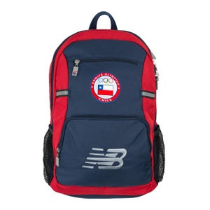 Mochila New Balance Team Chile Azul/Roja