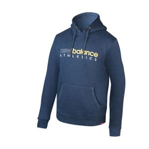 Polerón Hombre New Balance Hoodie Azul
