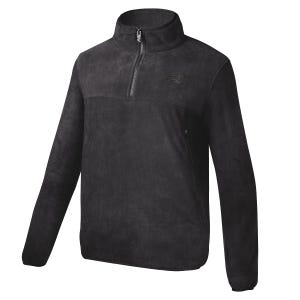 Polerón Polar Outdoor New Balance Quarter Zip Negro