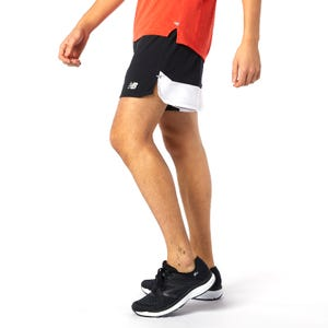 Short Running Hombre New Balance Impact Run 5'' Negro