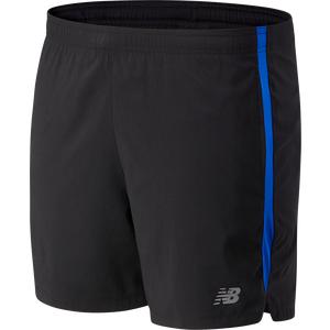Short Running Hombre New Balance Accelerate 5 In Negro / Azul