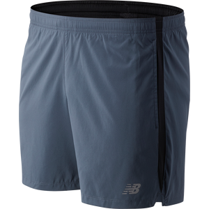 Short Running Hombre New Balance Accelerate 5 In Gris