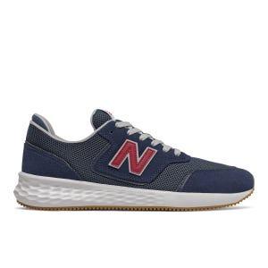 Zapatillas Urbanas Hombre New Balance X-70 Azules