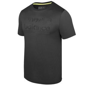 Polera Hombre New Balance T-Shirt Negra