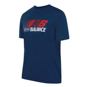 Polera Hombre New Balance Lifestyle Azul Petróleo