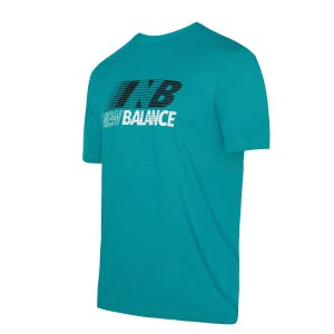 Polera Hombre New Balance Lifestyle Verde