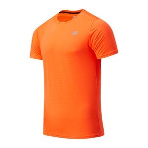 Polera Running Hombre New Balance Accelerate Naranja
