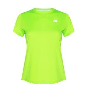 Polera Running Mujer New Balance Accelerate Verde