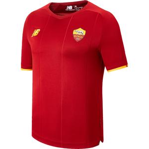 Camiseta Oficial Roma Hombre New Balance Burdeo