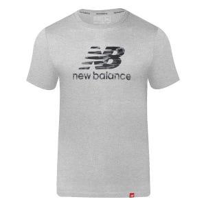 Polera Hombre New Balance Lifestyle Gris