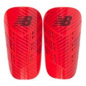 Canilleras Fútbol Unisex New Balance Hardshell Guard Rojo M