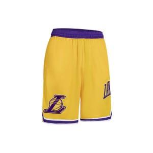 Short Básquetbol Hombre NBA Lakers Amarillo