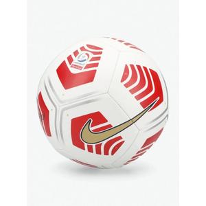 Balón Fútbol Nike Pitch Campeonato Nacional 2021 N°5 Blanco/Rojo