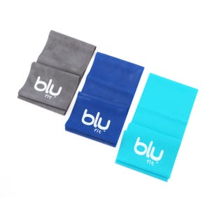Set De Bandas Elásticas Blu Fit Power Band