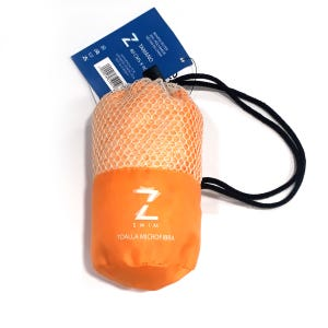 Toalla Zvibes Microfibra Melange Naranja S
