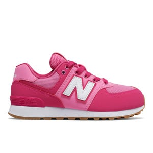 Zapatillas Urbanas New Balance Niña 574 Rosada