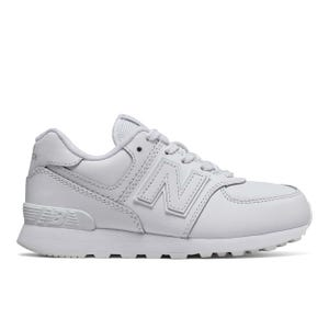Zapatillas Urbanas Niño New Balance 574 Blanco