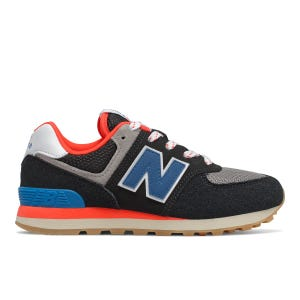 Zapatillas Urbanas New Balance Niño 574 Negro