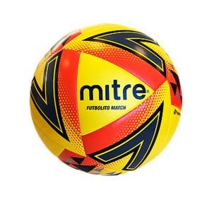 Balón Futbolito Match Mitre N 4 Amarillo