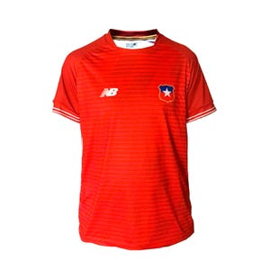 Polera Fútbol Niño New Balance Chile Copa America 2021 Roja