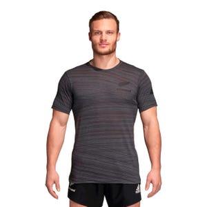 Polera Rugby Hombre Adidas All Blacks Gris