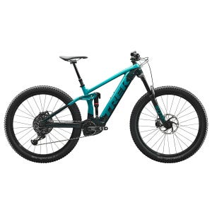 Bicicleta Eléctrica MTB Trek Rail 9 Verde