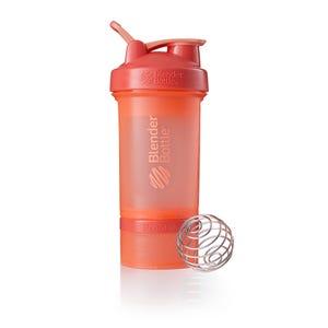 Botella BlenderBottle ProStak 20 oz Coral