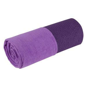 Toalla Yoga Blu Fit Antideslizante Morada