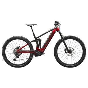 Bicicleta Eléctrica MTB Trek Rail 7 Negro/Rojo
